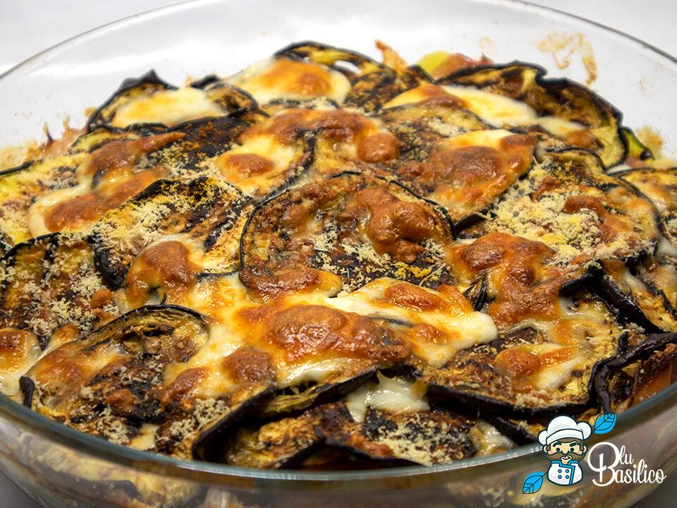 timballo di verdure grigliate al forno
